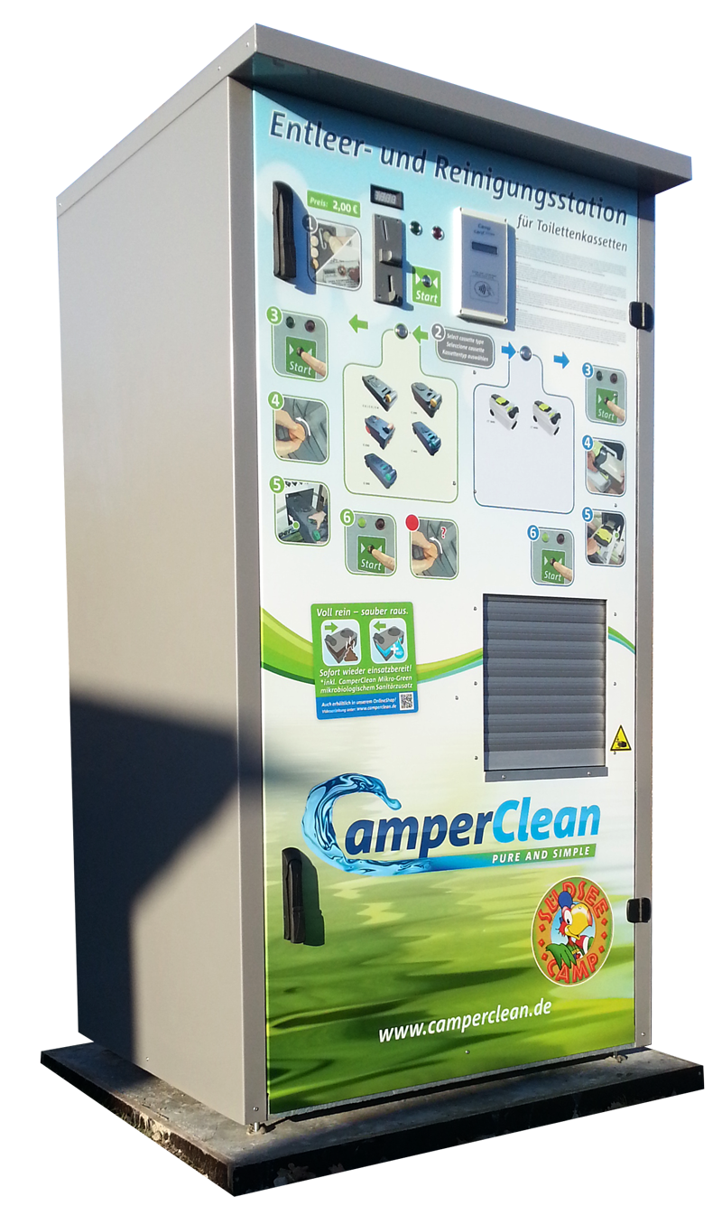 CamperClean Reinigungsstation