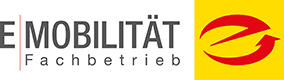Logo E-Mobilität Fachbetrieb